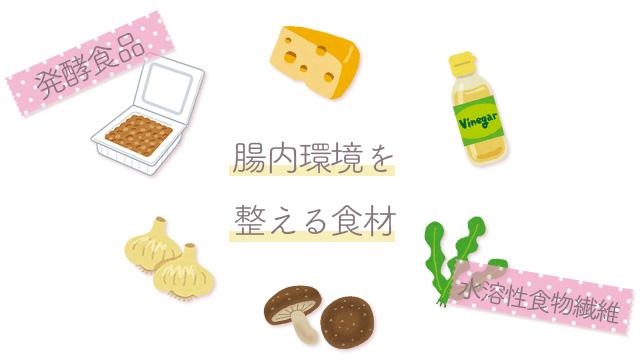 腸内環境を整える食材